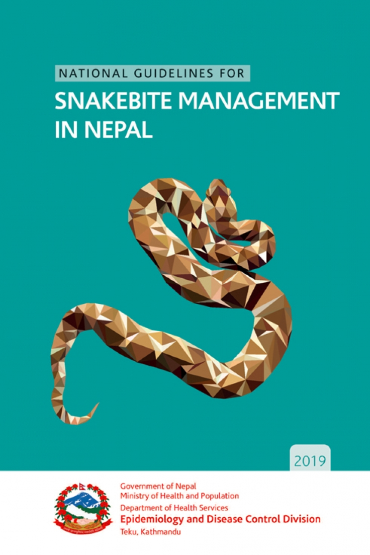 National Guideline for Snakebite Management in Nepal 2019
